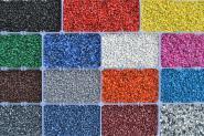 Dekowol® Aquariumkies verschiedene Farben 2 Körnungen 2,5kg Quarzkies kunststoffummantelt
