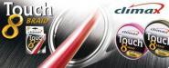 100m Climax Touch 8 geflochtene Angelschnur 3 Farben von d. Großspule 0,128¤/m