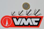 10 Stk VMC 9900BZ Blitz Raubfisch Haken für z.B. Barsch Hecht Zander in 4 Größen